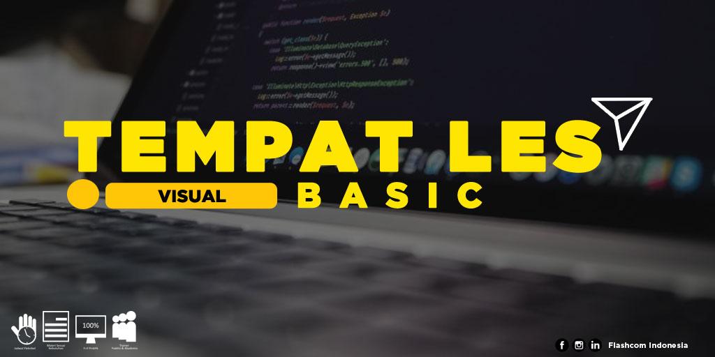 Tempat Les Visual Basic Programming