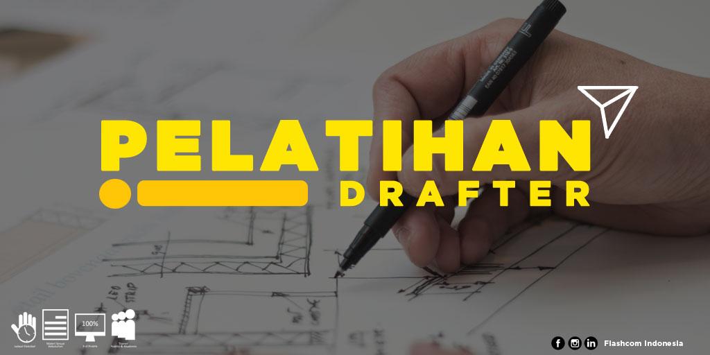 Pelatihan Drafter bersama Flashcom Indonesia Paling Diminati Kalangan Industri Manufaktur