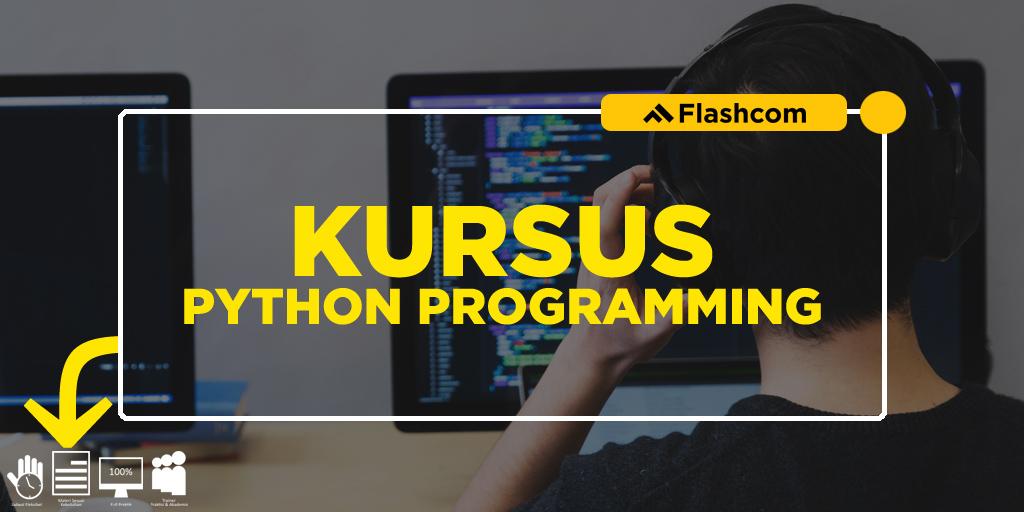 Kursus python programming dengan mempelajari 5 library python terbaik buat coding
