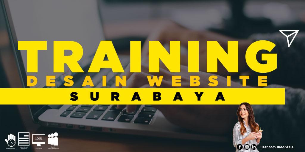 Kegiatan training desain website Surabaya diselenggarakan langsung oleh Flashcom Indonesia, dalam rangka mewujudkan 1juta web designer profesional.