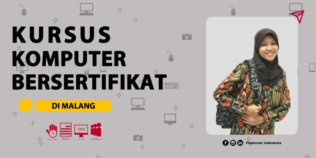 Kursus komputer bersertifikat di Malang